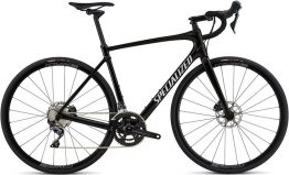 Specialized Roubaix Comp - Gloss Tarmac Black/White Reflective Clean