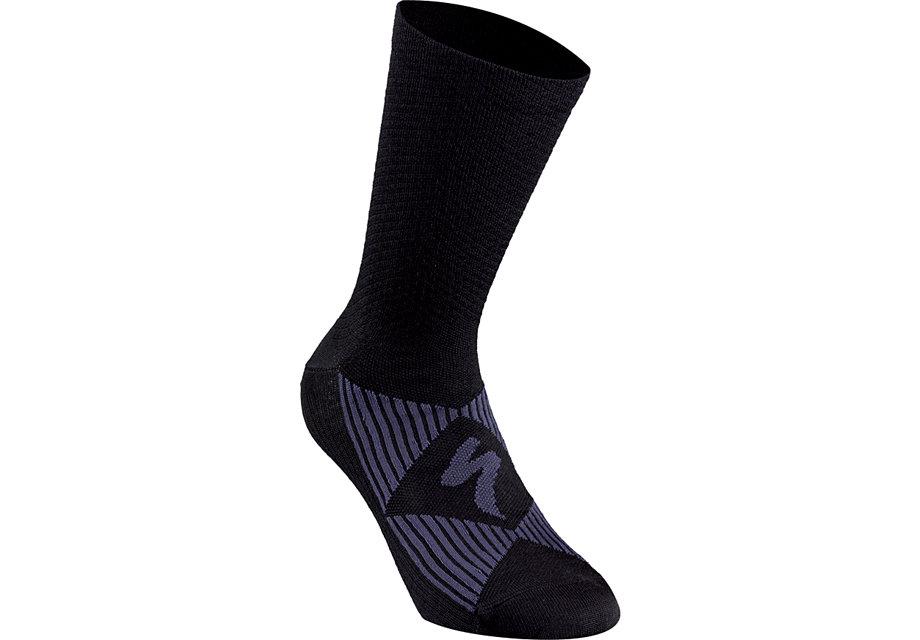 merino-wool-sock-black