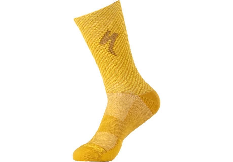 soft-air-road-tall-logo-sock-brassy-yellow