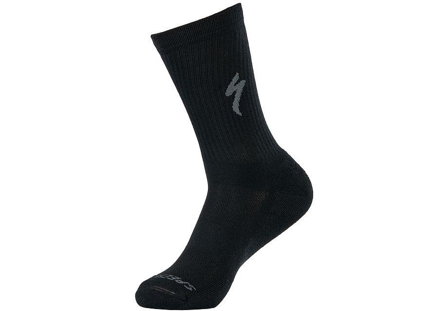 techno-mtb-tall-sock-black